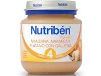 NUTRIBEN MANZANA NARANJA PLATANO Y GALLETA